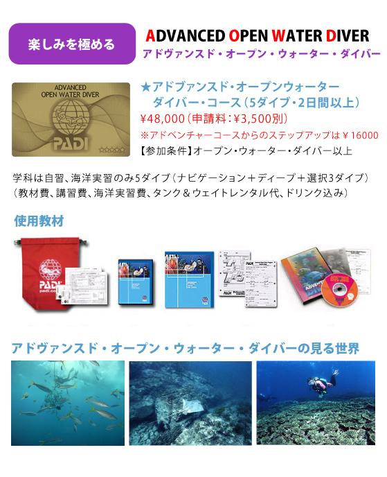 アドバンス・オープン・ウォーター・ダイバー | 宮崎でダイビングを ...